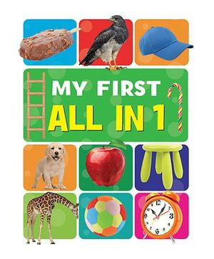 My First All In 1 Book - English