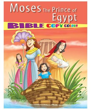 Moses The Prince of Egypt Bible Copy Colour - English