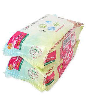 Morisons Baby Dreams Soft Baby Wipes - 160 Pieces