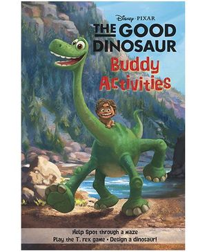 Disney Pixar The Good Dinosaur Buddy Activities - English