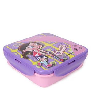 Chhota Bheem Lunch Box - Purple