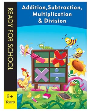 Pegasus Book Addition Subtraction Multiplication And Division - English