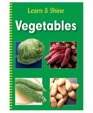 Vegetables Learn And Shine - English