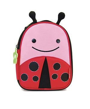 Skip Hop Insulated Lunch Bag Livie Ladybug Design - Pink