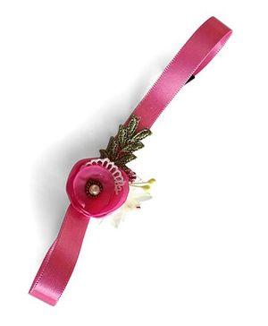 Soulfulsaai Baby Flower Headband - Pink