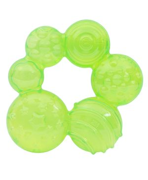 1st Step - Water Filled Green Baby Teether