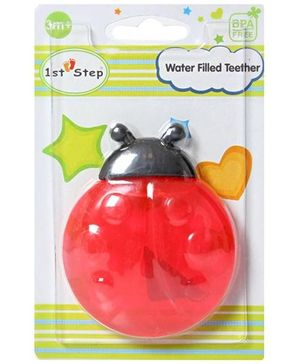 1st Step - Water Filled Lady Bug Teether