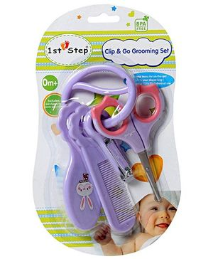 1st Step - Clip & Go Grooming Set