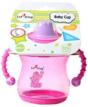 1st Step Baby Cup - Pink