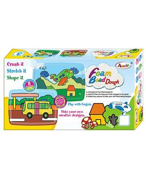Annie Foam Bead Dough - Multicolor
