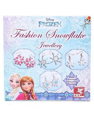 Disney Frozen Fashion Snowflake Jewellery - Blue