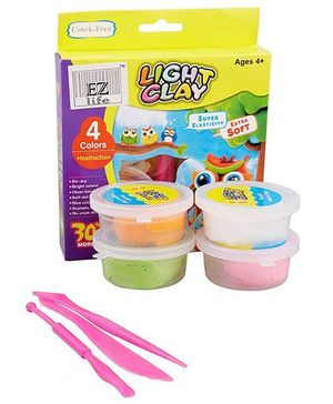 EZ Life Lightweight Magic Clay Gift Pack - Multi Colour