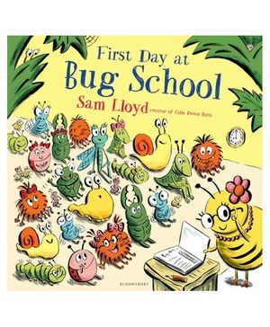 First Day At Bug School Story Book - English
