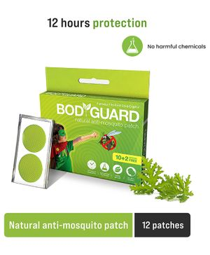 Bodyguard Premium Natural Anti Mosquito Patches Pack Of 1 - 12 Patches