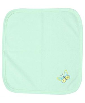 Child World Hanky With Butterfly Print