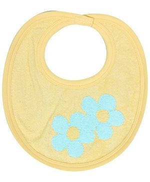 Child World Bib With Flower Print