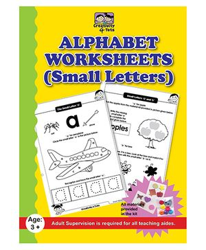 Creativity 4 Tots Alphabet Small Letters Worksheets - English