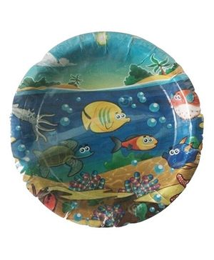 Funcart Under The Sea Theme Paper Plates Pack of 10 - 9 inches