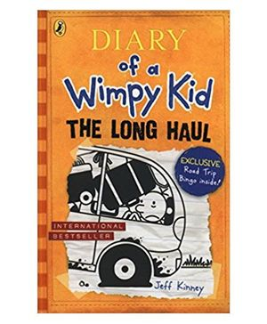 Diary Of Wimpy Kid The Long Story Book Haul By Jeff Kinney - English