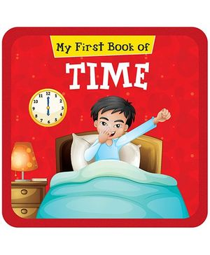 My First Book Of Time - English