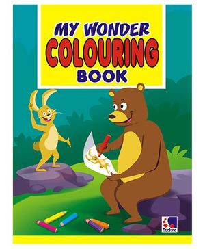 My Wonder Colouring Book - English