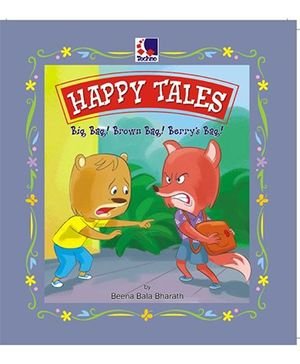 Happy Tales Big Bag! Brown Bag! Berry's Bag! - English