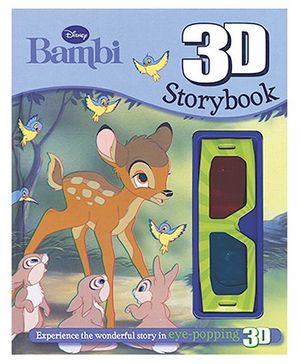 Disney Bambi 3D Storybook - English