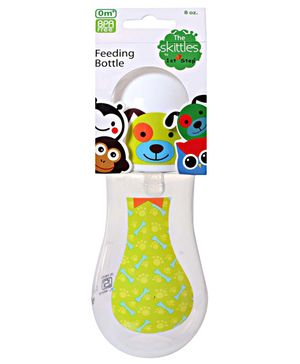 1st Step Skittle Feeding Bottle Green 235 ml