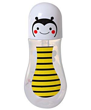 1st Step Skittle Plastic Feeding Bottle Bee Design Yellow - 236 ml