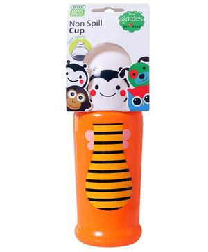 1st Step Non Spill Soft Spout Cup Orange