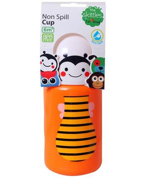 1st Step Easy Grip Non Spill Cup Orange 300 ml