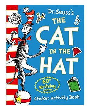 The Cat In The Hat Sticker Activity Book by Dr Seuss - English