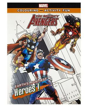 Avengers Colouring & Activity Book By The Walt Disney Company India - English