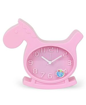 Horse Shaped Alarm Clock - Pink