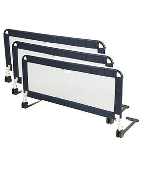 Honey Bee Bed Rail Guard Pack of 3 - Navy Blue