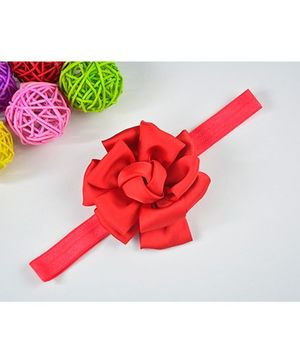 Little Miss Cuttie Blossom Flower Headband - Red