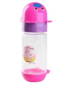 1st Step Feeding Bottle Pink - 150 ml