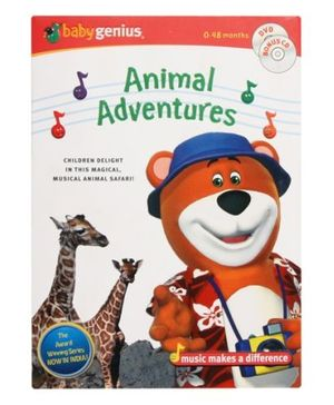 Baby Genius - Animal Adventures - DVD