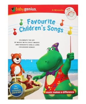 Baby Genius - Favourite Children's Songs - DVD