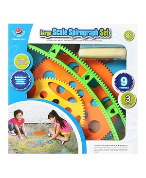 Emob Large Scale Spirograph Craft Kit - Multicolour