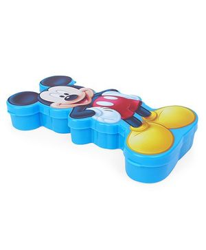 Disney Mickey Mouse Design Pencil Box - Blue