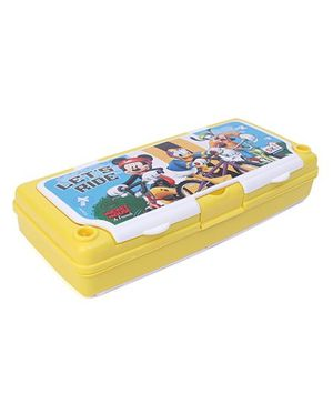 Disney Mickey Mouse & Friends Pencil Box - Yellow