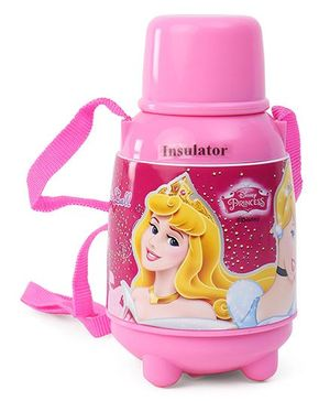 Disney Princess Water Bottle With A Leak Proof Cap Pink - 650 ml