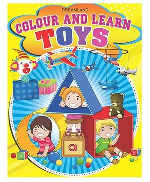 Colour And Learn Toys - English