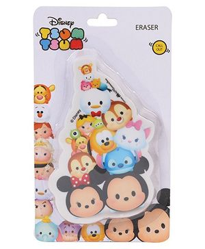 Disney Tsum Tsum Die Cut Shaped Eraser - Multi Color