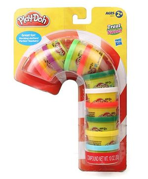 Play Doh Treat Without The Sweet Holiday Modelling Compound - Pack of 10