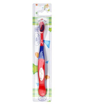 1st Step Kids Toothbrush Red Blue - 16 cm