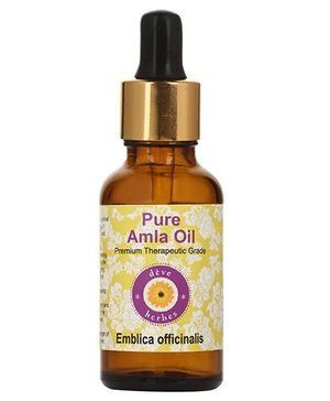 Deve Herbes Pure Amla Oil With Dropper - 100 ml