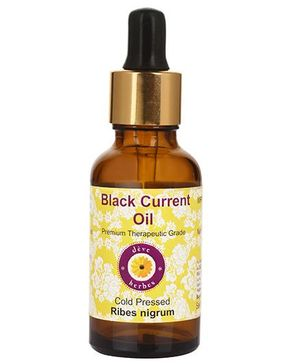 Deve Herbes Pure Black Current Cold Pressed Oil (Ribes Nigrum) Oil - 15 ml