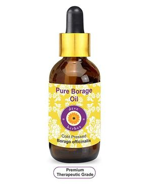 Deve Herbes Pure Borage Oil With Dropper - 100 ml